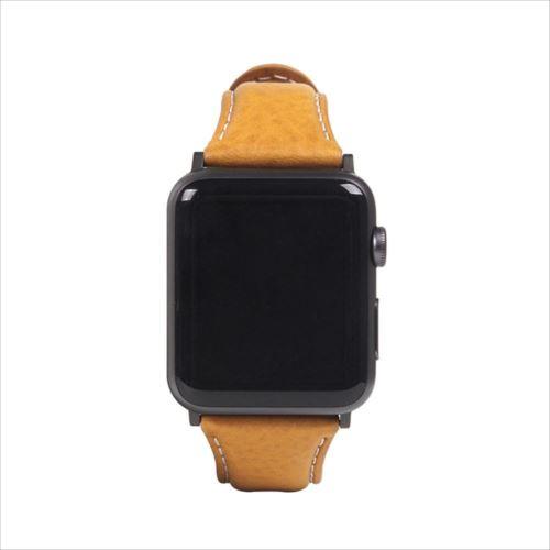 SLG Design(エスエルジーデザイン) Apple Watch バンド 38mm/40mm用 Italian Minerva Box Leather タン SD18393AW  【abt-1483989】【APIs】