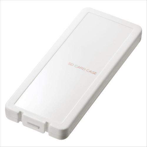 SDカードケース(6枚収納・ホワイト) FC-MMC23SDW  【abt-1484538】【APIs】