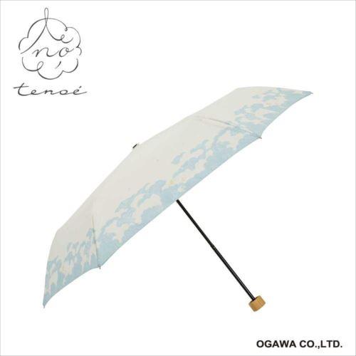 折りたたみ傘 晴雨兼用 手開き 50cm くもの世界 92035 TEN-50PM-4  【abt-1501137】【APIs】