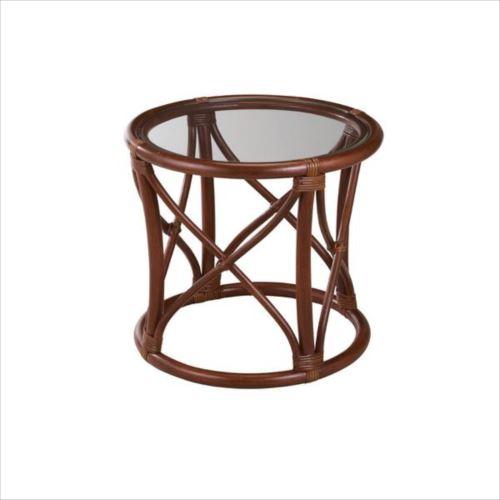 今枝ラタン 籐 テーブル サイドテーブル ブラウン NO-11D  【abt-1348806】【APIs】