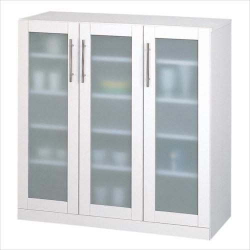 カトレア食器棚90-90 23464  【abt-1349042】【APIs】