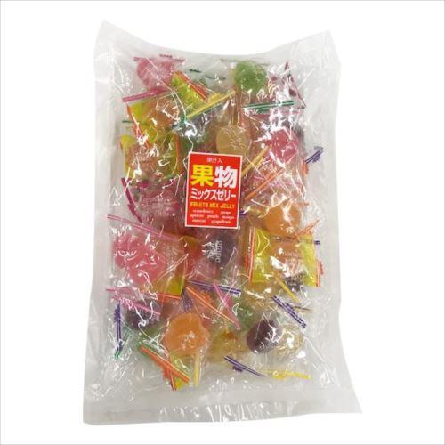 果物ミックスゼリー 500g×12袋 D-34  【abt-1395395】【APIs】 (軽税)