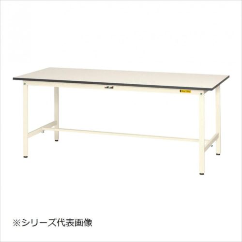 山金工業(YamaTec) SUP-1245-WW ワークテーブル150シリーズ 固定式(H740mm) 1200×450mm  【abt-1413199】【APIs】
