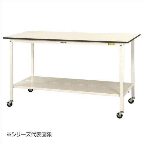 山金工業(YamaTec) SUPHC-1860TT-WW ワークテーブル150シリーズ 移動式(H1036mm) 1800×600mm (全面棚板付)  【abt-1413339】【APIs】