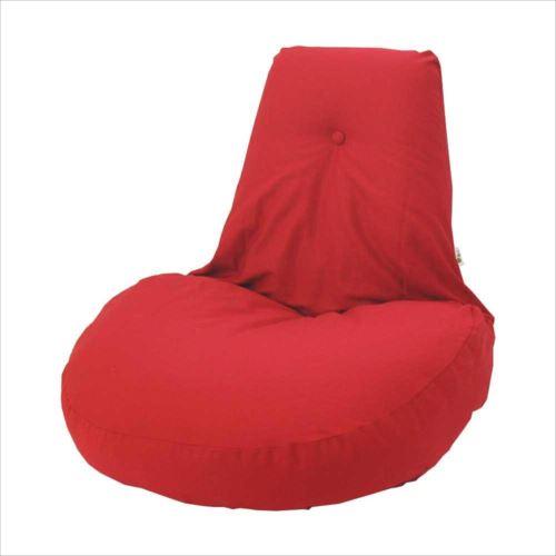 ふわふわ座椅子 凛 レッド  【abt-1437146】【APIs】