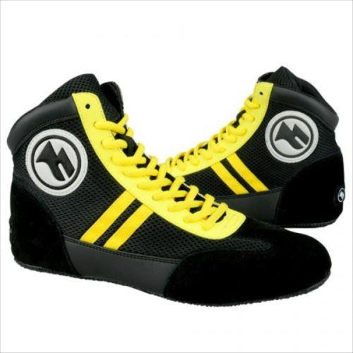 ボクシングシューズ 黒 25cm BXS1-250-BK  【abt-1223485】【APIs】
