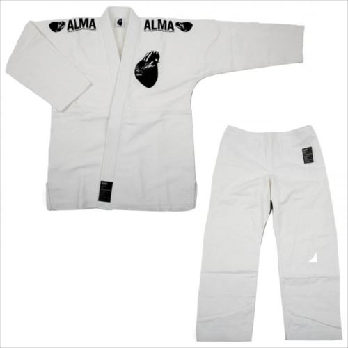 ALMA アルマ レギュラーキモノ 国産柔術衣 M00 白 上下 JU1-M00-WH  【abt-1223564】【APIs】