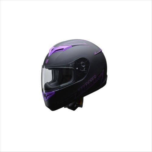 リード工業 LEAD ZIONE フルフェイスヘルメット パープル LLサイズ  【abt-1230622】【APIs】