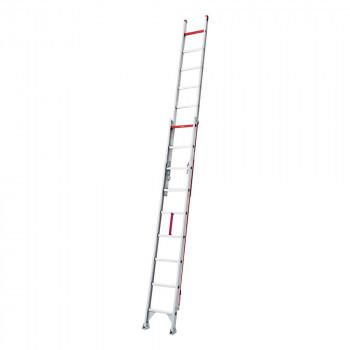 高所作業に 2020新作 二連デザインはしご LX2-48 日本産 abt-1608641 APIs