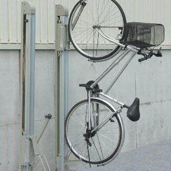 ダイケン 自転車ラック 垂直式吊り下げラック サイクルフック CF-B 1台用  【abt-1072997】【APIs】