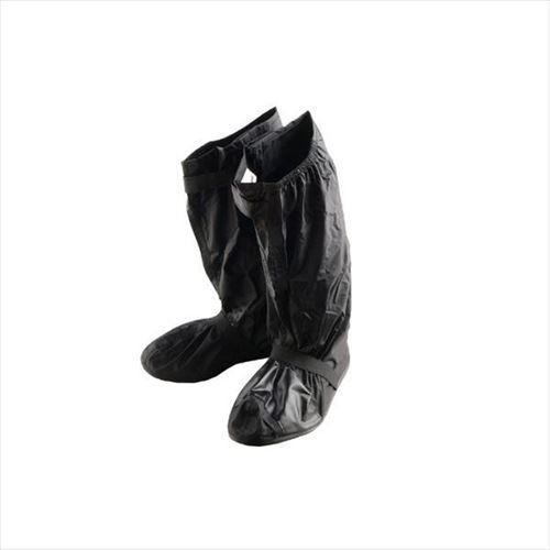 膝下まで覆えるブーツカバー 好評受付中 リード工業 ブランド激安セール会場 Landspout ブーツカバー ソール付 APIs L abt-1230870 RW-053A ブラック