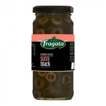 サラダなどのお料理にそのまま使えるスライスオリーブです 2020 Fragata フラガタ スライスブラックオリーブ 安売り abt-1403959 APIs 120g×12個セット 軽税