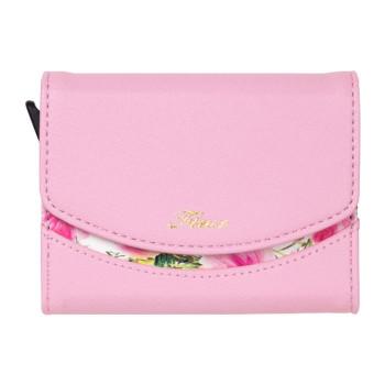 綺麗な花柄デザイン Fleur 豪華な カードウォレット CWT-FLE05 タイムセール ピンク abt-1605436 APIs