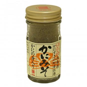 海の自然の恵みで作られたかに味噌缶 マルヨ食品 かにの身入りかにみそ(瓶詰) 60g×48個 01042  【abt-1646891】【APIs】