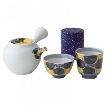 贈り物に 西海陶器 波佐見焼 錦花紋 abt-1647177 超美品再入荷品質至上 一服茶器セット 17937 お得 APIs