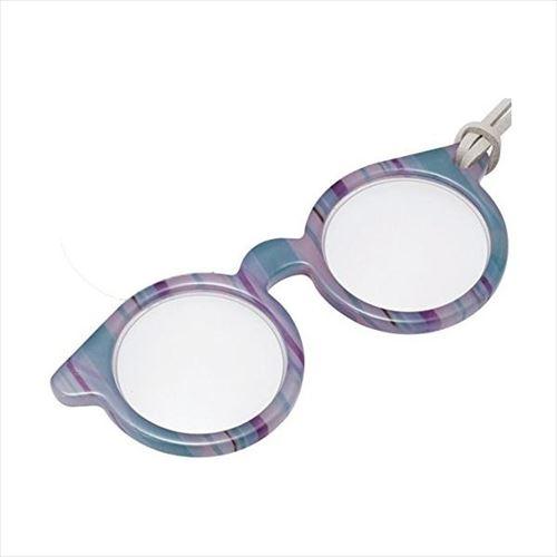 ミニメガネ型のペンダントルーペ ペンダント型ルーペ ご予約品 ミニメガネシリーズ 卸直営 PRT13-2 ミルストライプ 072022 abt-1275585 APIs
