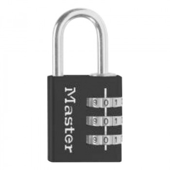 低価格化 よく鍵を失くしてしまう人に 人気急上昇 ナンバー可変式南京錠 630JADBLK abt-1606640 APIs