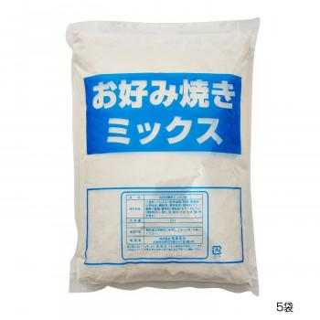 和泉食品 パロマお好み焼きミックス粉(山芋入り) 2kg(5袋)  【abt-1654279】【APIs】 (軽税)