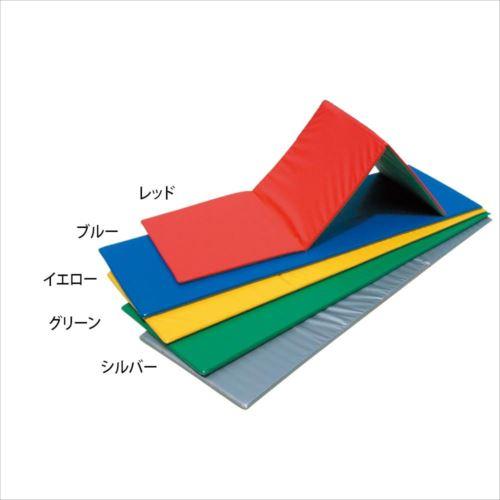 三ツ折ノンスリップフィットネスマット 60×180×2cm F-62  【abt-1507933】【APIs】