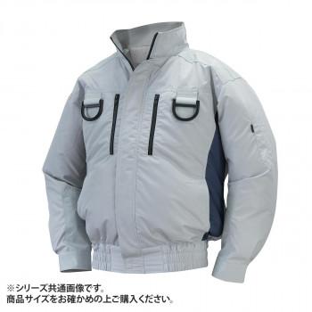 NA-113A 空調服フルハーネス 充白セット 3L シルバー/チャコール チタン タチエリ 8209529  【abt-1601409】【APIs】