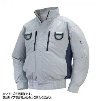 NA-113C 空調服フルハーネス 充白セット L シルバー/チャコール チタン タチエリ 8119034  【abt-1601456】【APIs】
