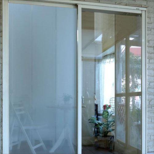 Achillesアキレス 窓ガラス用 遮熱&UVカットフィルム 厚み0.2mm 幅98×長さ200cm (半透明タイプ) 2本組   【yst-1020093】【APIs】