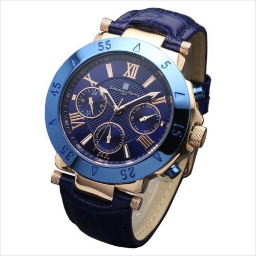 Salvatore Marra(サルバトーレマーラ) 腕時計 SM14118S-PGBL  【yst-1285186】【APIs】