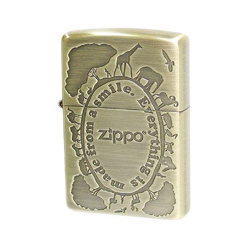ZIPPO(ジッポー) オイルライター SAFARI-BB ゴールド  【yst-1474939】【APIs】