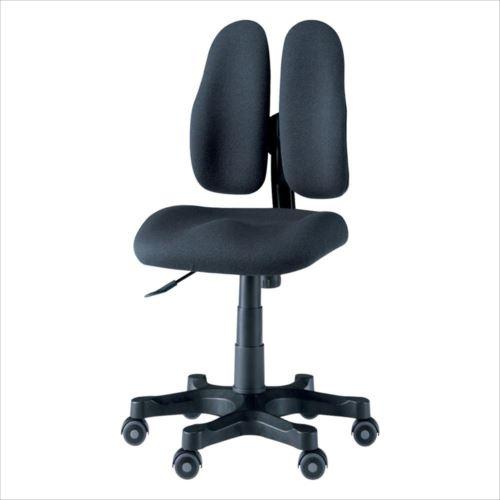 回転椅子 DR-257 (A-黒)  【yst-1407824】【APIs】