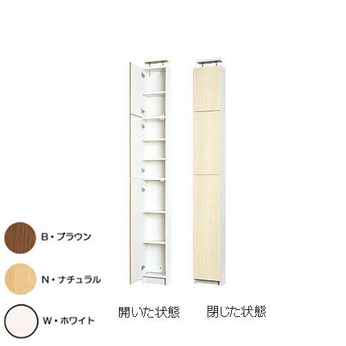 奥行19cm天井つっぱり薄型壁面収納 幅30cm 棚タイプ 高さミドル UHS-C3019M  【yst-1501626】【APIs】