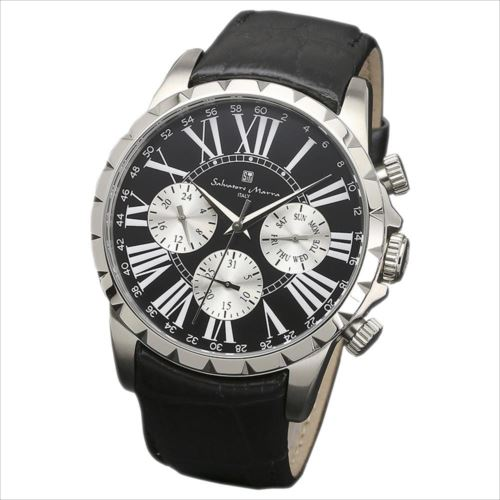 Salvatore Marra(サルバトーレマーラ) 腕時計 SM15103-SSBK  【yst-1285304】【APIs】