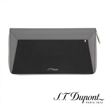 S.T. Dupont エステーデュポン ラインD カプセル トラベルオーガナイザー グレー&ブラック 184501  【yst-1538755】【APIs】