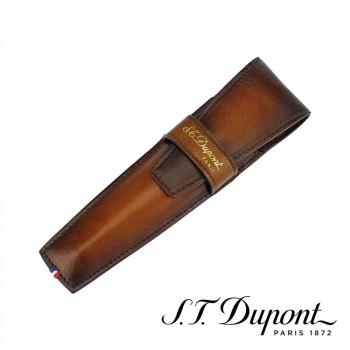 S.T. Dupont エス・テー・デュポン ラインD アトリエ ペンケース タバコブラウン 190404  【yst-1538763】【APIs】