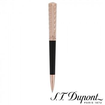 S.T. Dupont エス・テー・デュポン リベルテ ボールペン ブラックラッカー&ピンクゴールド 465601  【yst-1538865】【APIs】