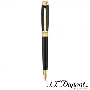 S.T. Dupont エス・テー・デュポン ラインD ボールペン ラッカー&イエローゴールド 415101M  【yst-1538876】【APIs】