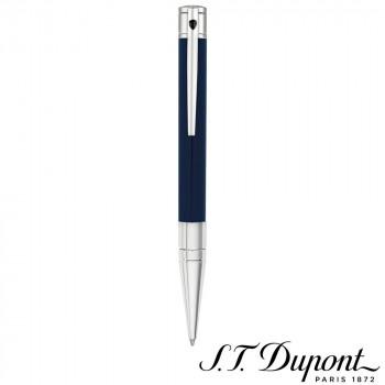 S.T. Dupont エス・テー・デュポン D・イニシャル ボールペン ブルー&クローム 265205  【yst-1538884】【APIs】