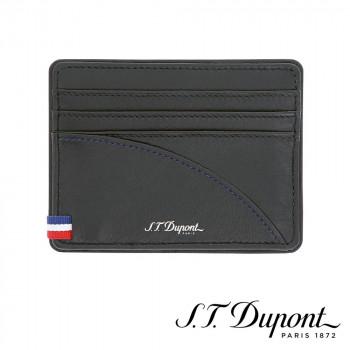 S.T. Dupont エス・テー・デュポン デフィミレニアム クレジットカードホルダー ブラック 172004  【yst-1538759】【APIs】