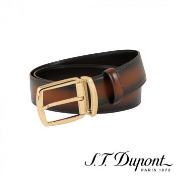 S.T. Dupont エス・テー・デュポン ラインD 35mm ベルト ブラウントーン 7650400  【yst-1538863】【APIs】