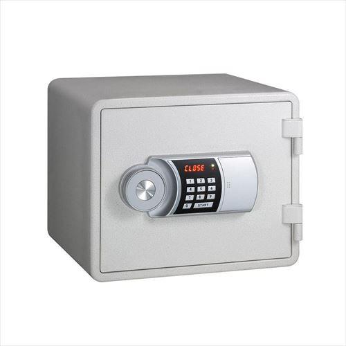 家庭用テンキー式 小型耐火金庫 YES COLOR SAFE イエス・カラーセーフ 14L ホワイト YESM-015WH  【yst-1130875】【APIs】