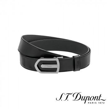 S.T. Dupont エス・テー・デュポン ラインD 35mm オートロックベルト ブラック 9791140  【yst-1538798】【APIs】