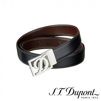 S.T. Dupont エス・テー・デュポン ビジネス リバーシブルベルト ブラック&ブラウン 9510120  【yst-1538810】【APIs】