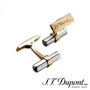 S.T. Dupont エス・テー・デュポン カフリンクス パラディウム&イエローゴールド 005595  【yst-1538835】【APIs】