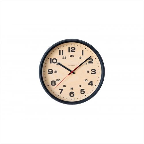 BRAM CLOCK 電波時計 BLACK・CH-050BK  【yst-1553563】【APIs】
