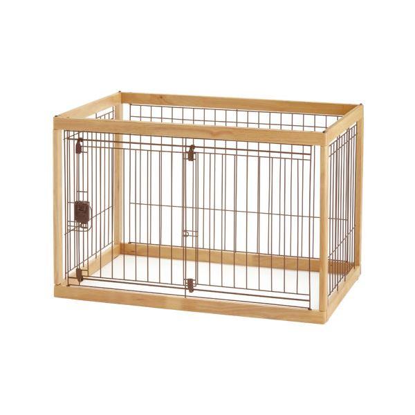 木製ペットサークル 90-60 ナチュラル【ペット用品】