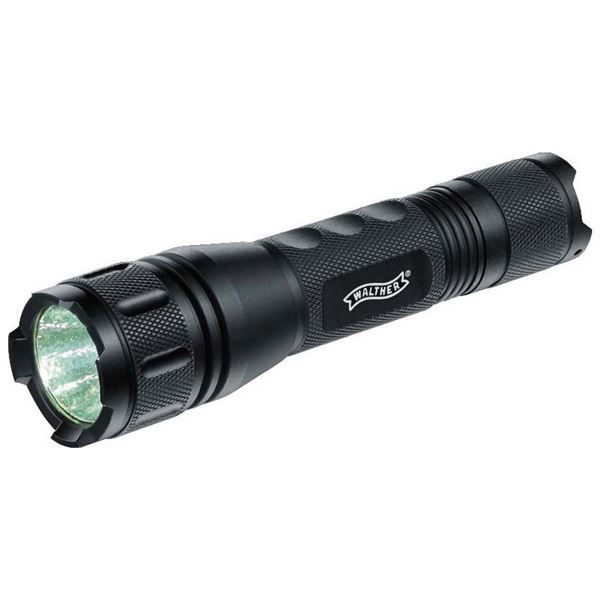 LEDフラッシュライト(懐中電灯) アルミニウムボディ 軽量 ストロボ機能搭載 ワルサー タクティカルXT2