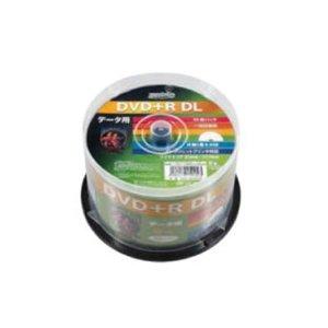 時期研究所 HIDISC DVD+R DLデ‐タ用メディア レーベル ワイドタイプ プリンタブル白50枚スピンドル HDD+R85HP50 【12個セット】