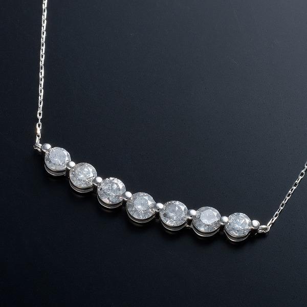 プラチナPt900 1ctダイヤモンドティアラペンダント (鑑別書付き)