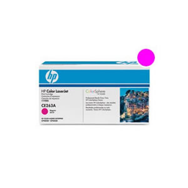 【純正品】 HP インクカートリッジ/トナーカートリッジ 【CE263A HP648A M マゼンタ】