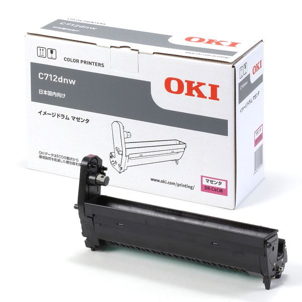 【純正品】 OKI DR-C4CM イメージドラム マゼンタ