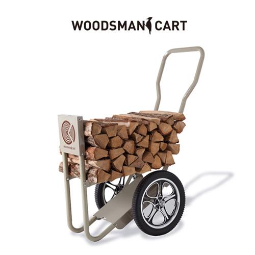 薪運びカート ウッズマンカート 大量の薪を一気に運べる ヤードでの薪運びに威力を発揮 キャンプ グランピング ベランピング おしゃれ 人気